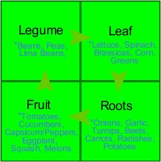 Crop rotation bed and plans with details of groups also veg rh pinterest