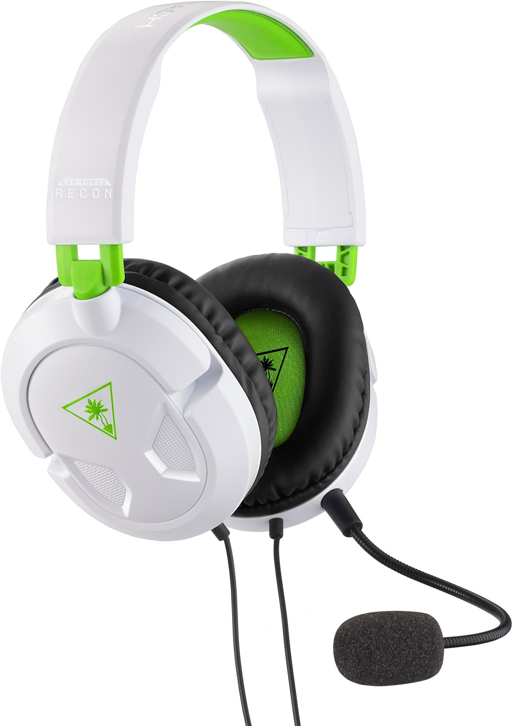 Turtle Beach Recon 50x White Stereo Gaming Headset Ps4 Xbox One Lightweight Comfortable Play For Hou Best Gaming Headset Turtle Beach Gaming Headset