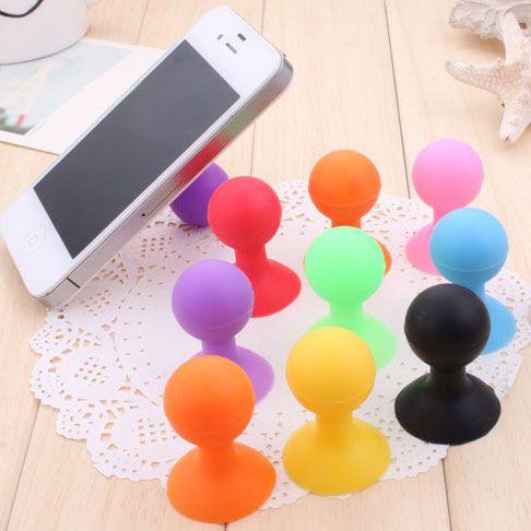 Envío gratis, pelota de goma del soporte del lechón para el tacto, tablet pc, accesorios de telefonía móvil en Soportes de Telefonía en AliExpress.com | Alibaba Group