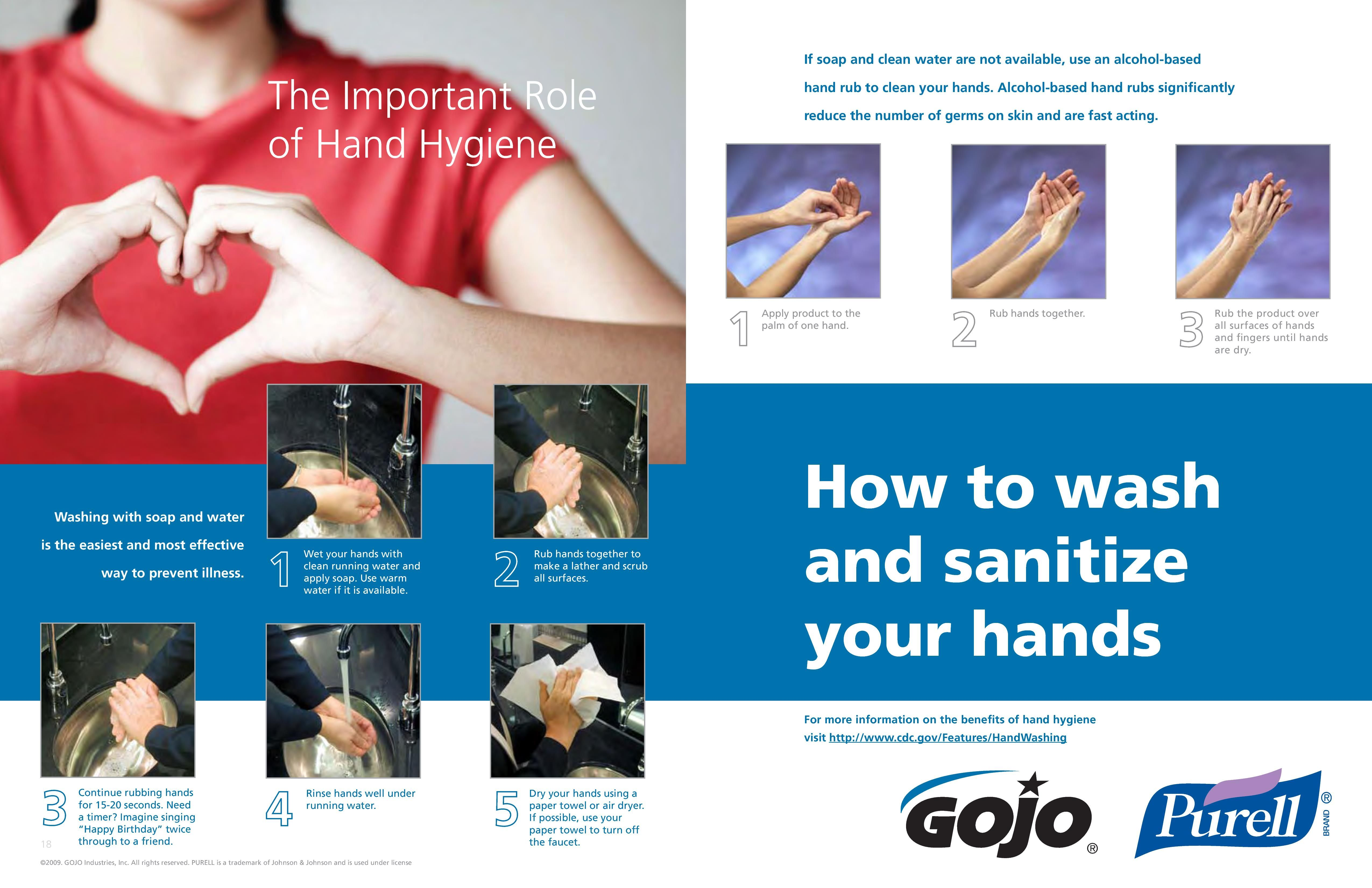 How To Wash And Sanitize Your Hands