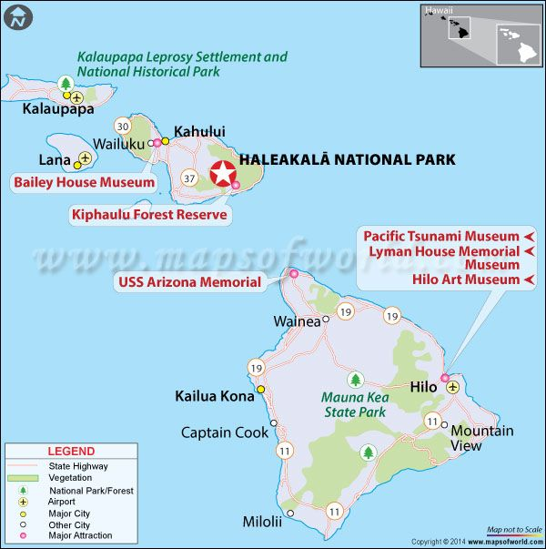 Haleakala National Park Maui Hawaii Map Facts Location Best