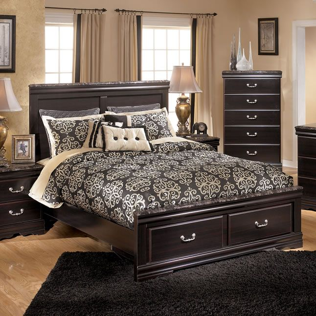 Esmarelda Storage Bed | Storage beds, Furniture storage and Ashley ...