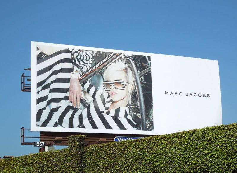 78c76665ab6 Marc Jacobs striped spring 2103 billboard