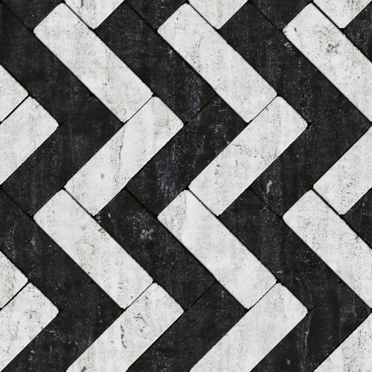 Seamless Marble Black White Tile Pattern Texture Kitchen Floor Idea In Brown And