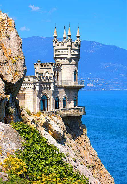 Swallows Nest Sea Castle, Crimea, Ukraine. Gorgeous! I ...