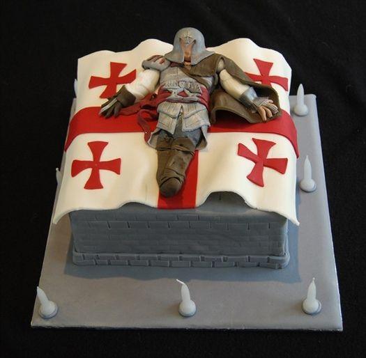 Assasins creed cake Paaartay Pinterest Cake Cake designs and