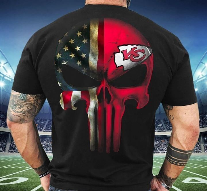 Amrican Skull Kansas City Chiefs T Shirt In 2020
