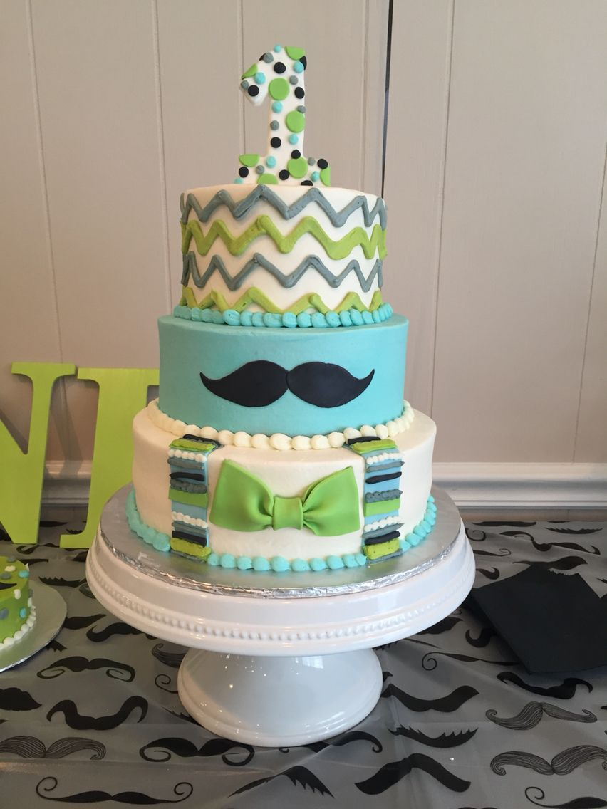 Little Man 1st Birthday Cake!!! By