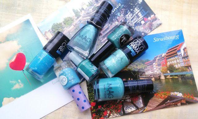 #mag #manicure #nails #bluenails #beauty #beautyblog #beautyblogger