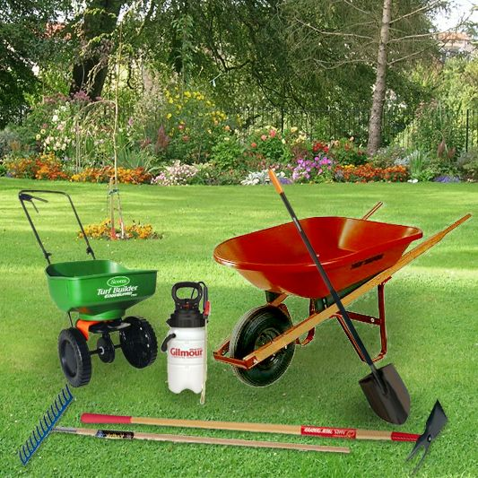 Tools For Lawn Renovation : Some tools that make a lawn renovation easier but can be used for other lawn and garden maintenance.