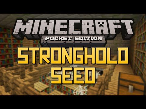 NEW STRONGHOLD SEED! - Minecraft Pocket Edition 0 11 0/0 11