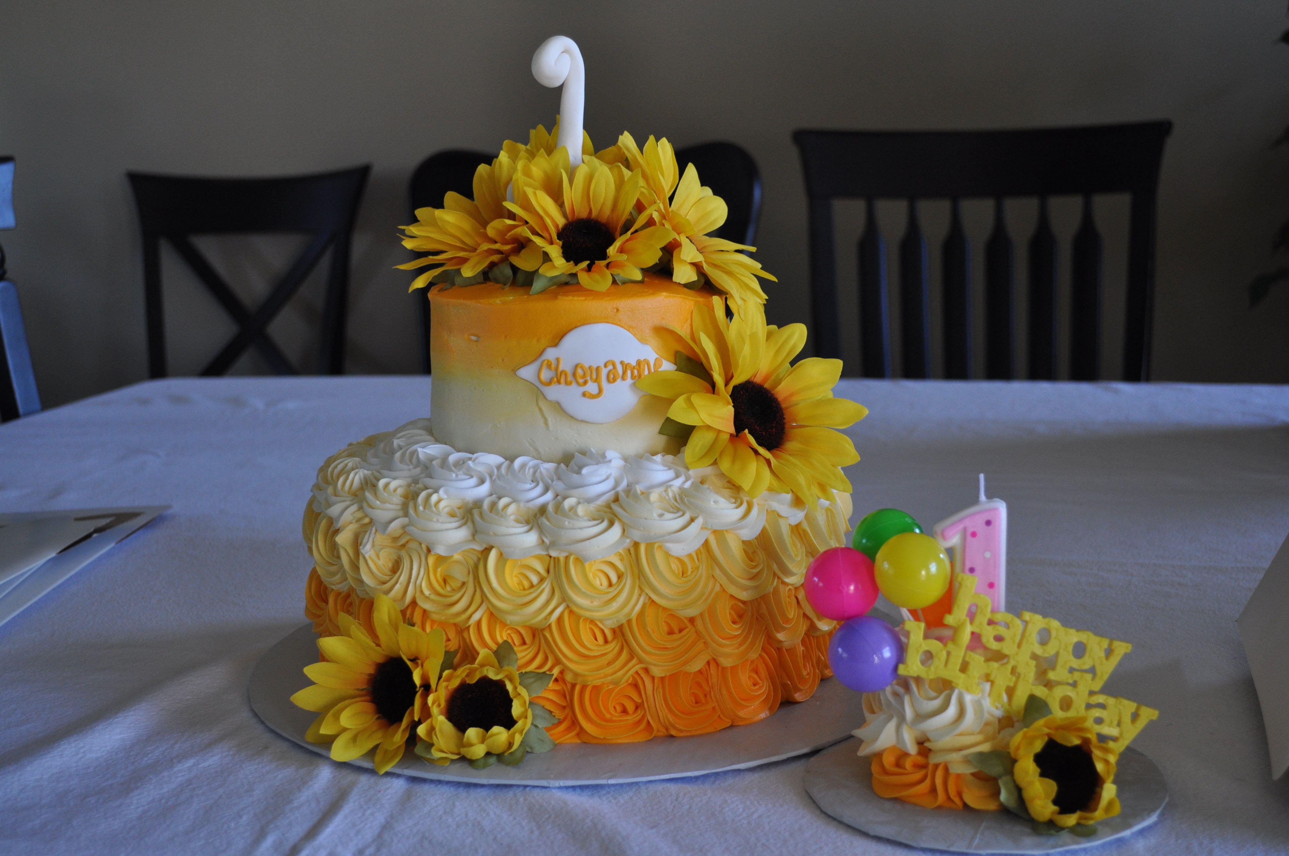 13++ 1st sunflower birthday cake ideas in 2021