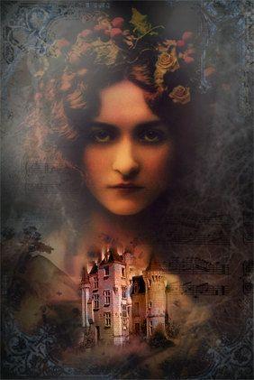 Annabel Lee Gothic Art print by Bohemiart on Etsy, $9.00
