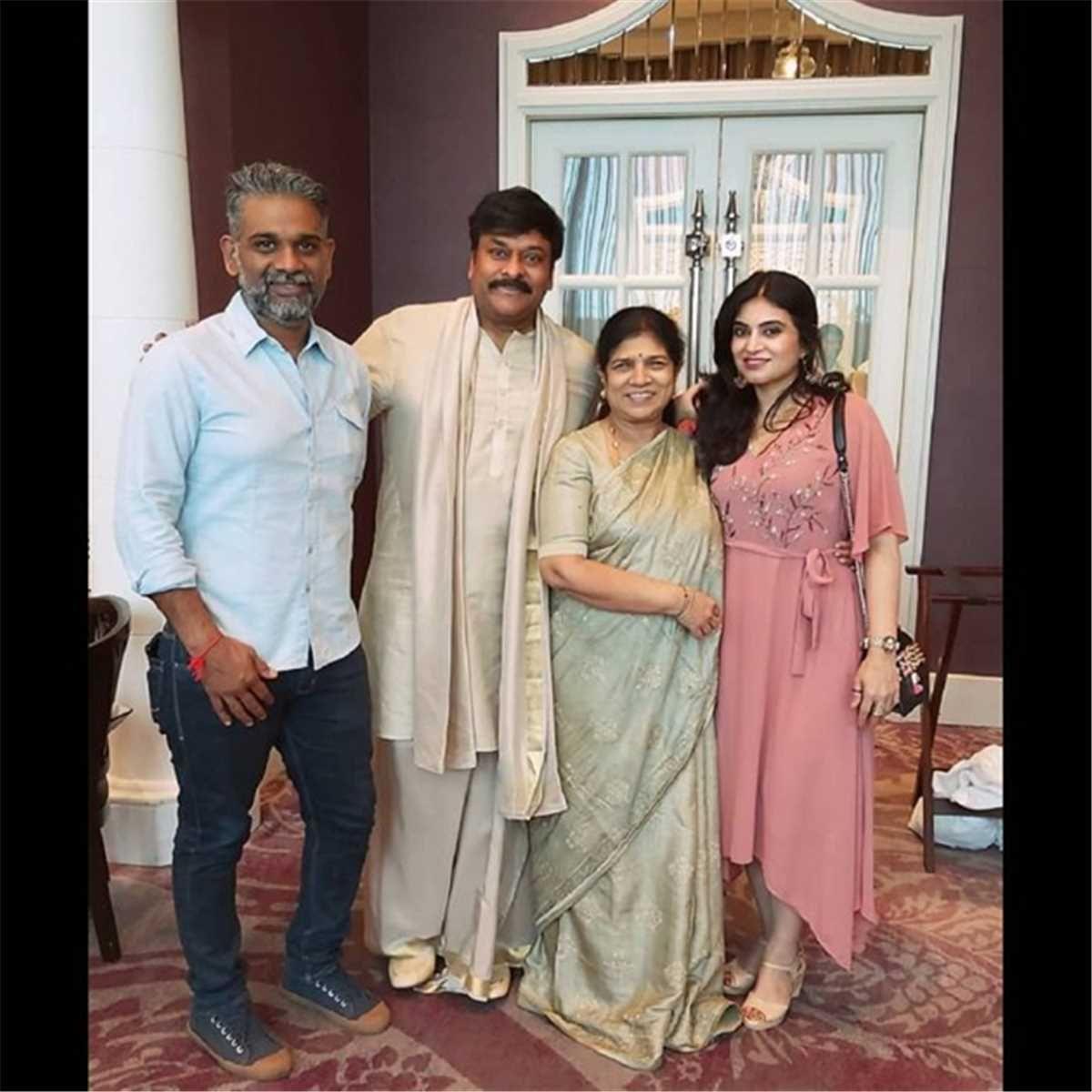 Allu Arjun's elder brother Allu Bobby and his wife Neela