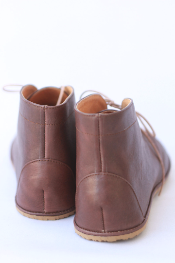 Image of Lion in Brown - Men's Handmade Leather boots - size 42 EU / 8.5 US men's - Ready to ship