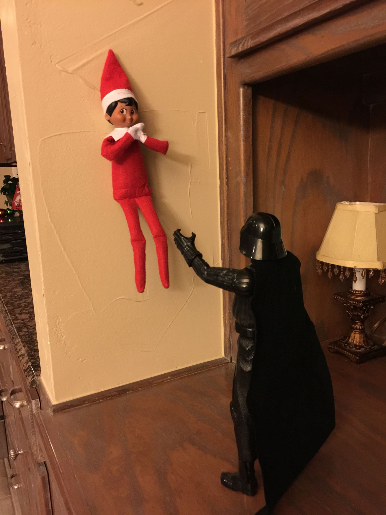 Elf on the Shelf - Darth Vader