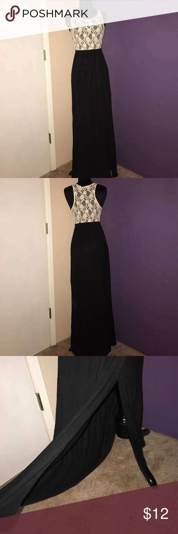 Forever 7 size Small long maxi dress  Long maxi dress, Maxi