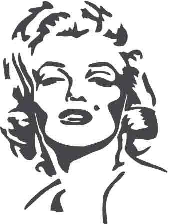 Marilyn Monroe Face Silhouette Tattoo 0683b09ccaf669cac7ff7645083699 ...