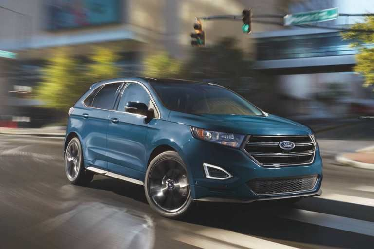 2017 Edge Sport In Blue Jeans Ford Edge Ford Edge Suv Ford