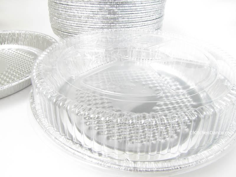 7 individual size pizza pan with plastic lid we50i47