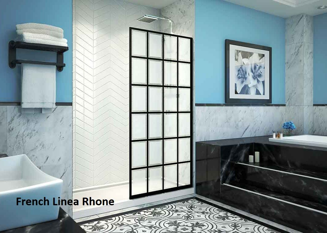 Dreamline S French Linea Rhone Shower Screen Is One Of Our Most