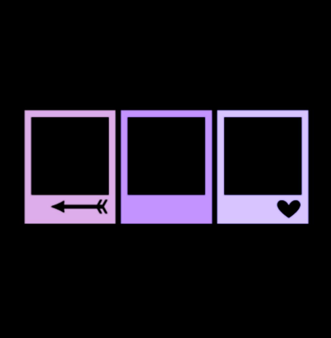 Sticker By Mibooo Purple Template Aesthetic Square Poloroid Purple Edit Kpop Aesthetic Overla Instagram Frame Template Polaroid Template Aesthetic Stickers