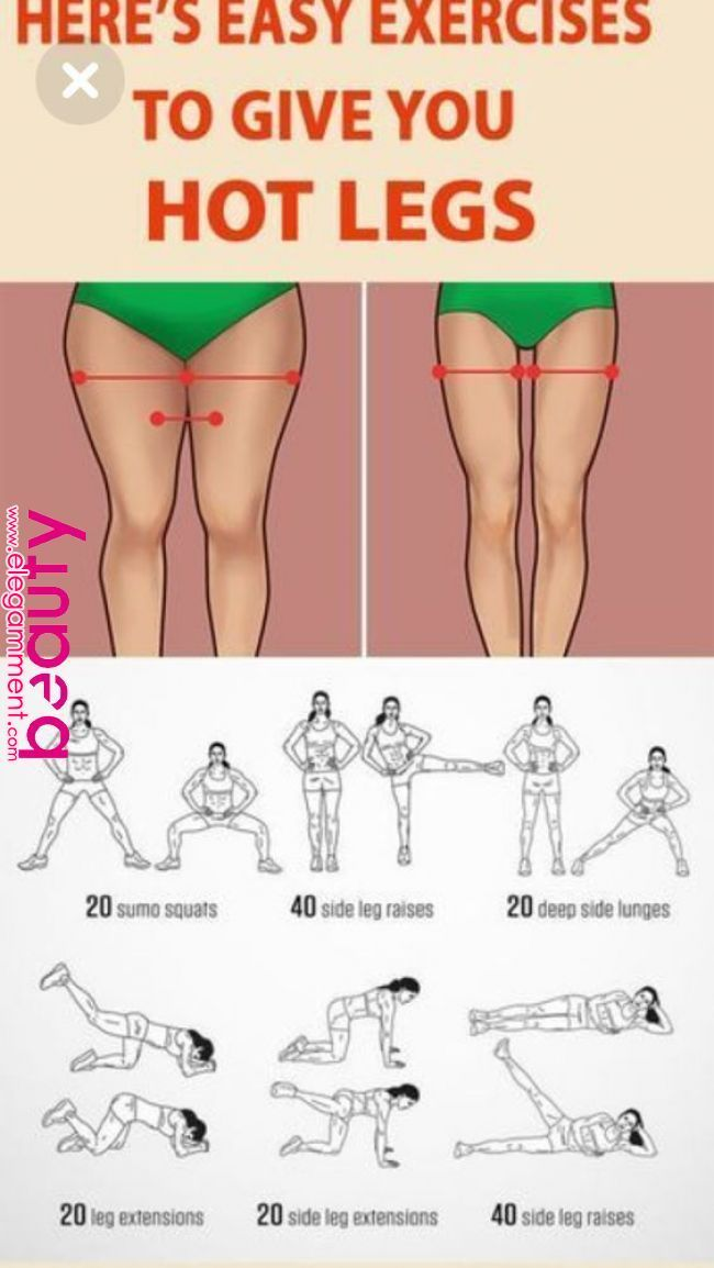 You will only need 10 minutes a day to get rid of the stubborn fat on the thighs.