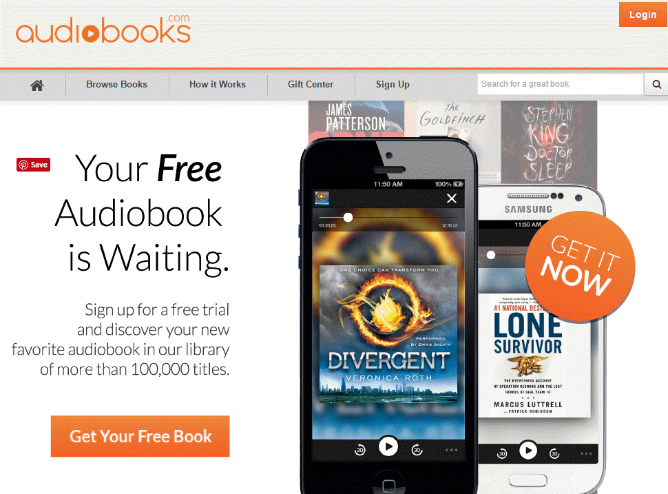 Get a free book of your choice. Hear all about it on