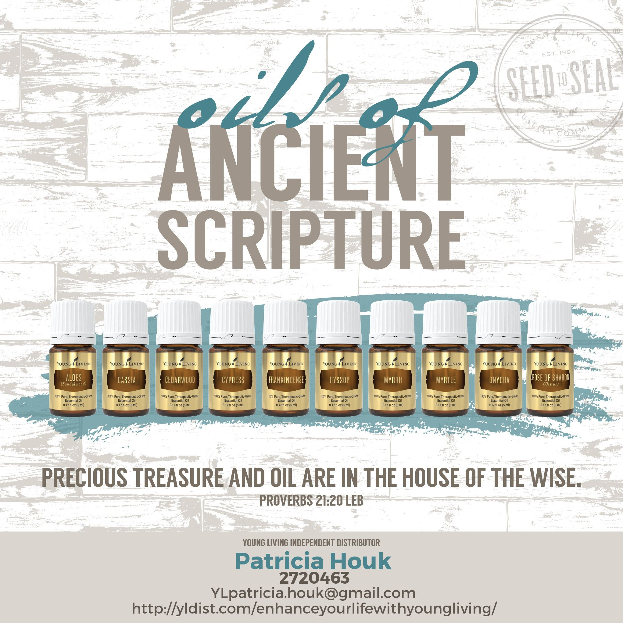 Oils of Ancient Scripture | OILish LIFE | Young living essential