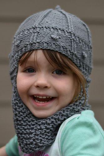 Knight in Knitted Helmet pattern by RoseEllen Spindler ...