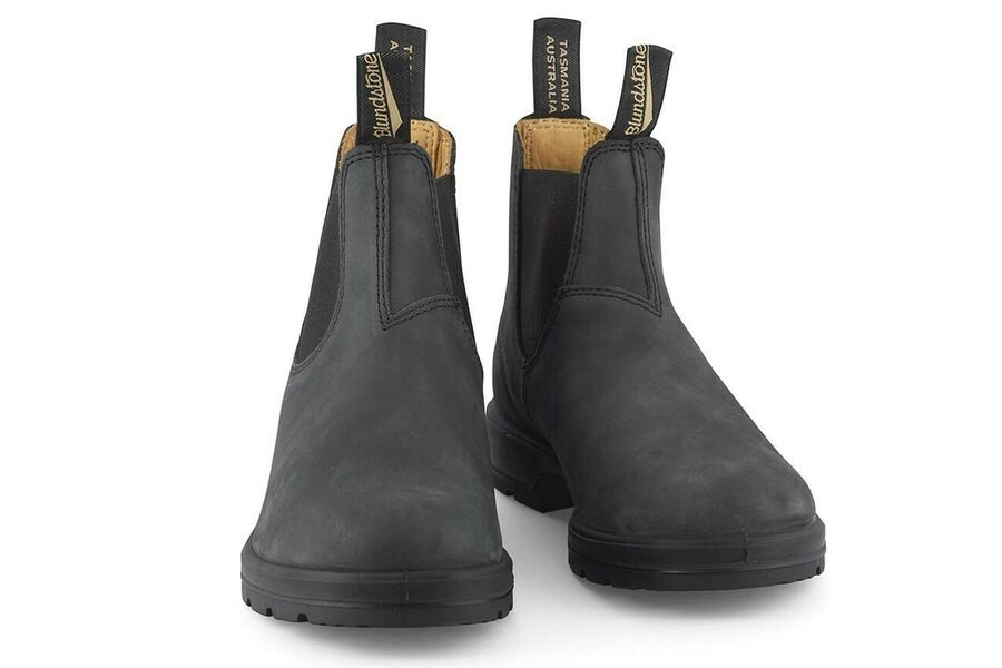 Blundstone 587 Chelsea Super 550 Boots Rustic Black Womens Leather Lightweight Ad Sponsored Black Leather Chelsea Boots Chelsea Boots Leather Chelsea Boots