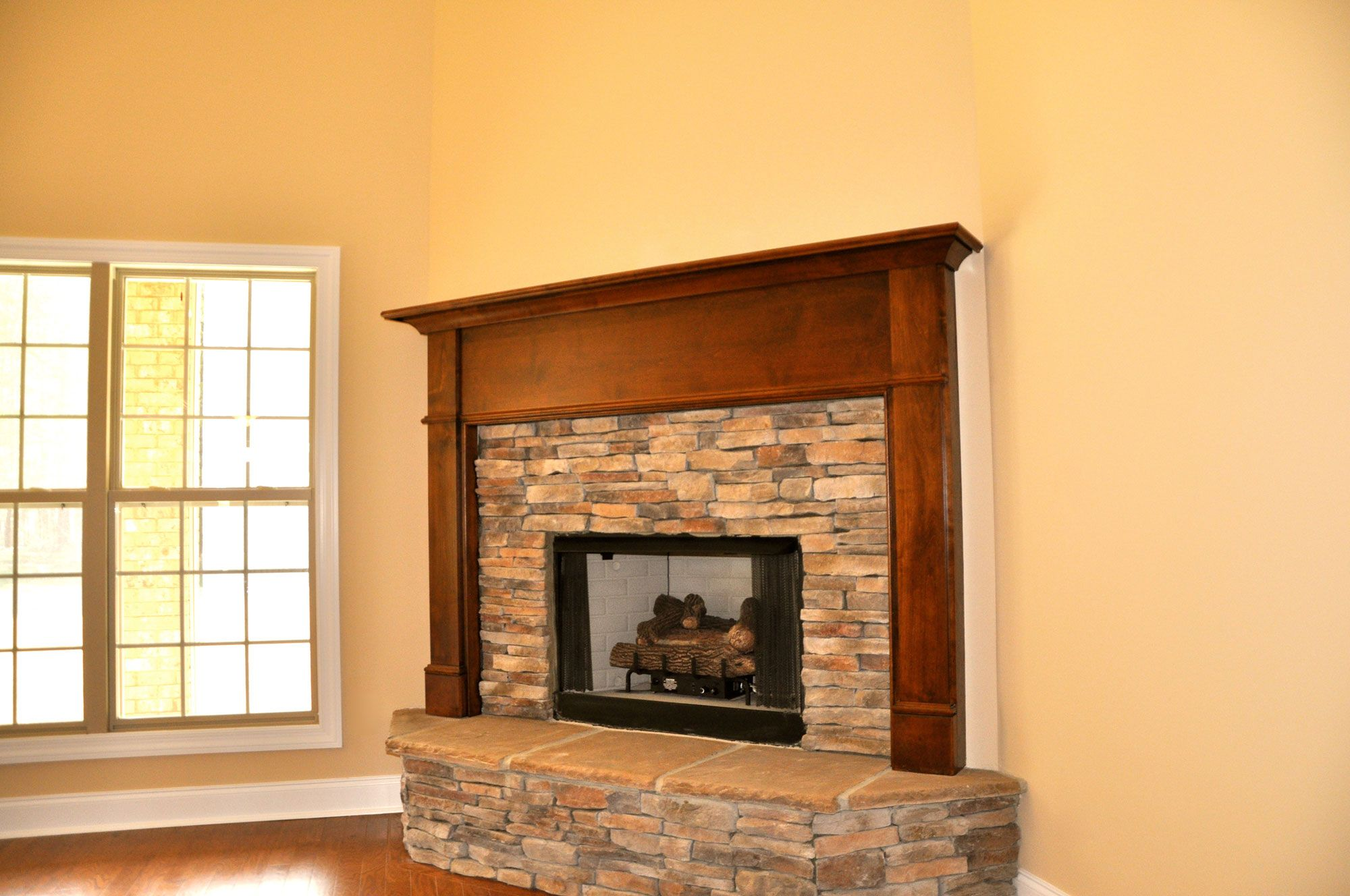 Craftsman style fireplace mantel - The Arts Crafts Mantel Beautifully Simple Mission Style