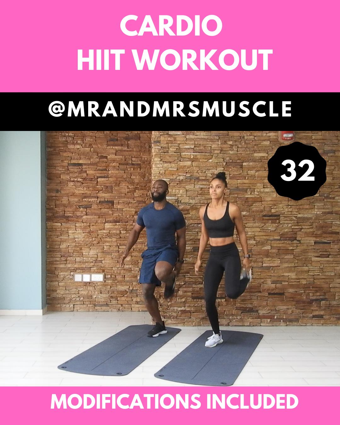 Sweaty Cardio Workout - HOME or GYM #fitness #fitnesstraining #gym #training