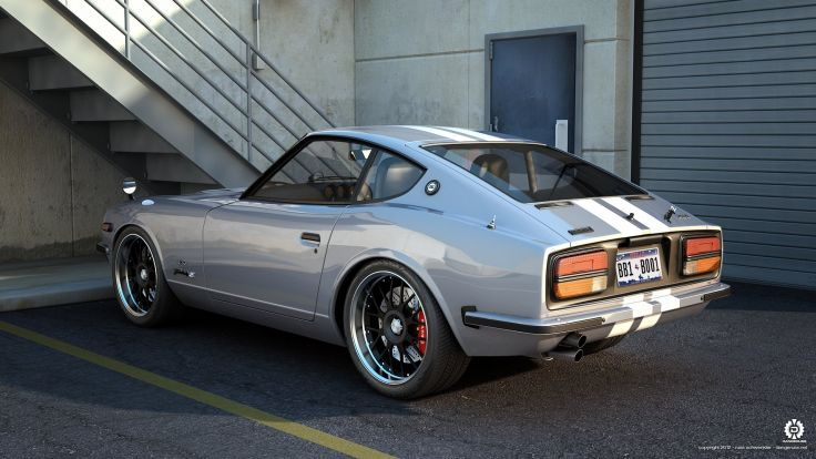 1969 Nissan Fairlady 240z 432 Wallpaper Background Datsun
