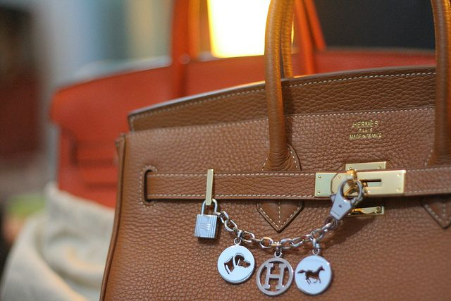 5100328d3af4 Hermes Birkin 35 with Silver Breloque Bag Charm