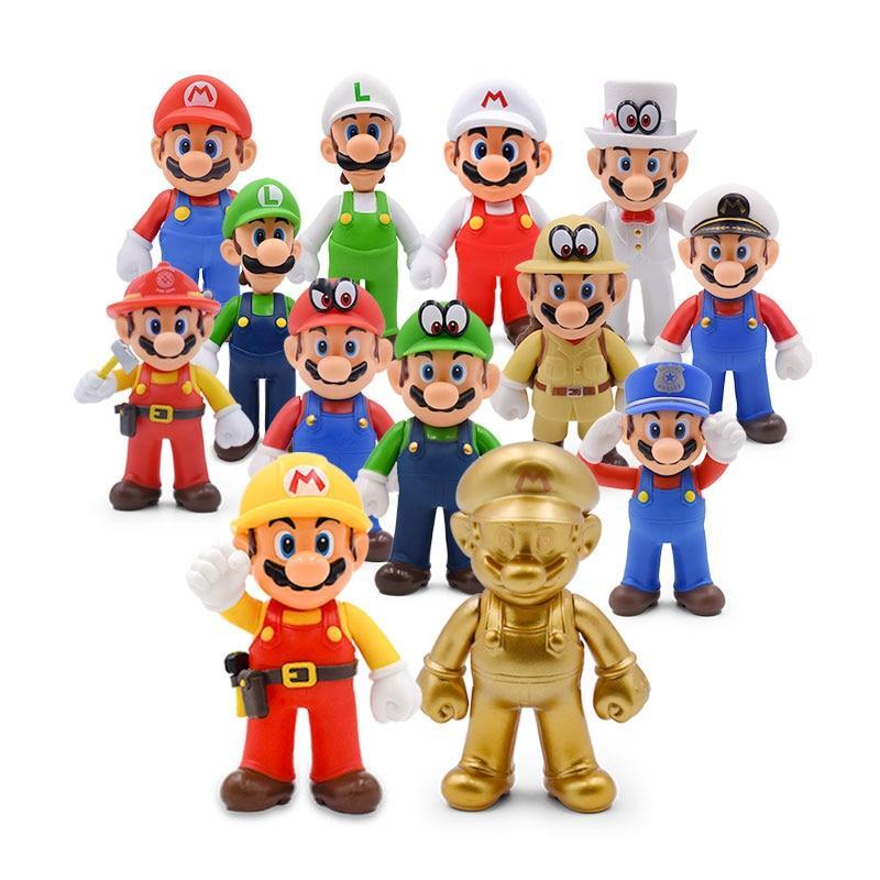 Super Mario Bros Action Figures Super Mario Bros Action Figures