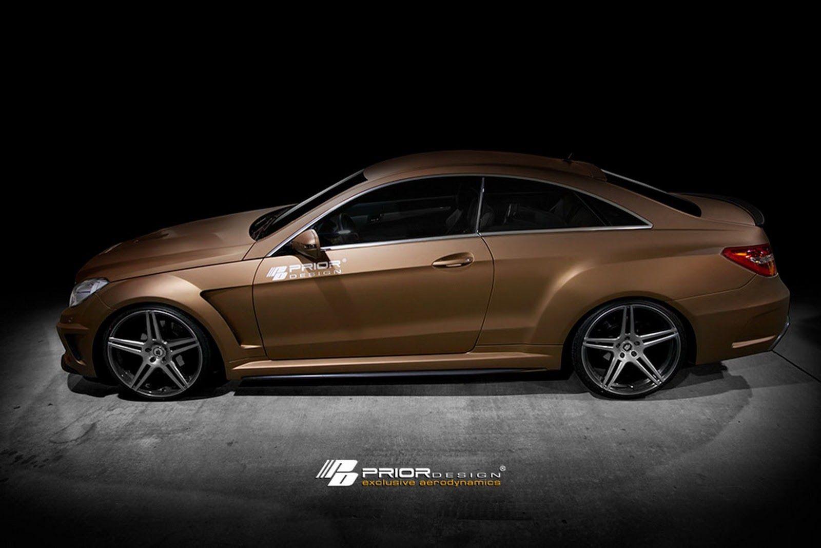 Prior design tune for prior facelift mercedes benz e class coupe carscoops
