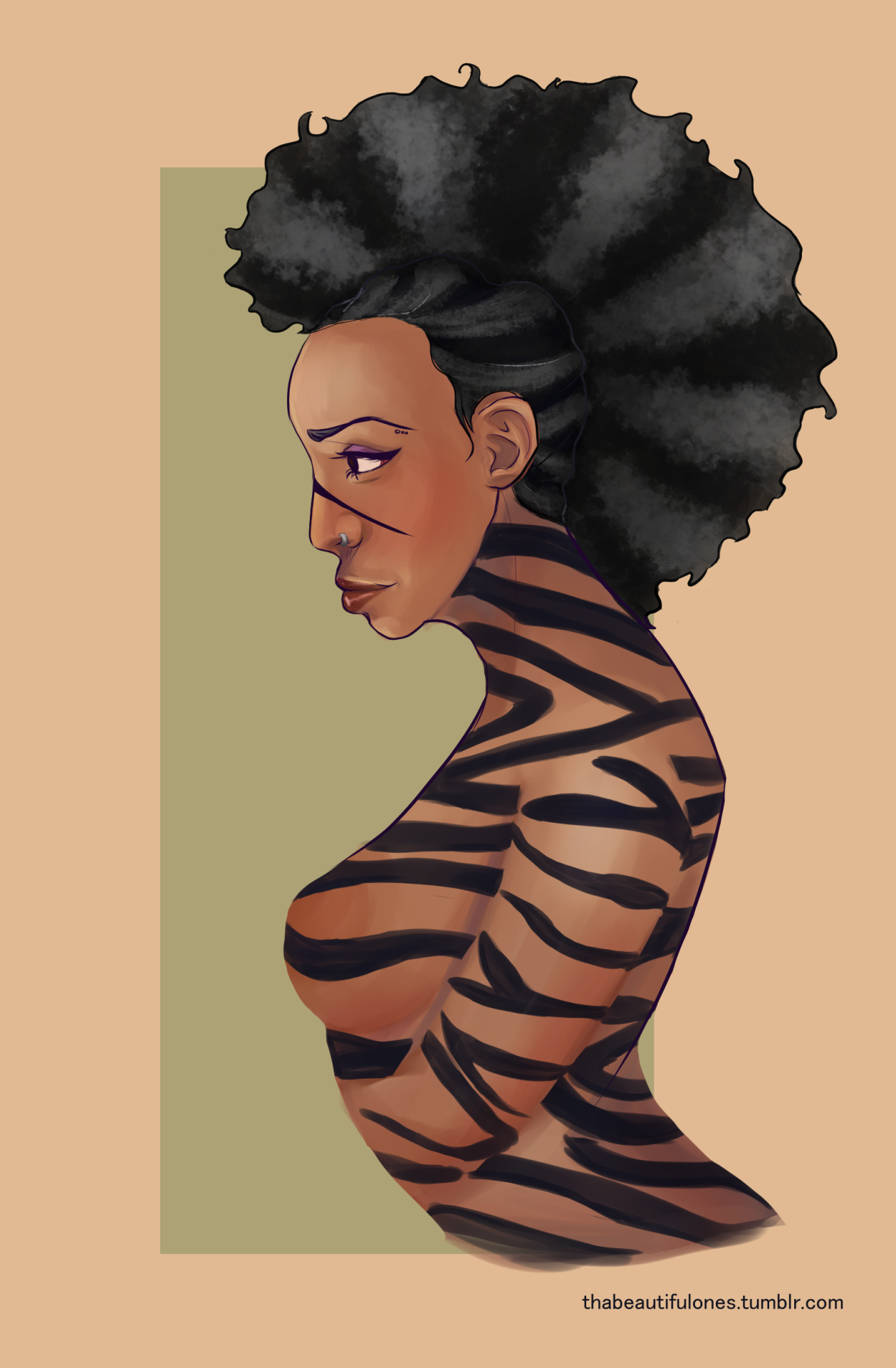 "I adore Zebras "" submission Afro Art Pinterest"