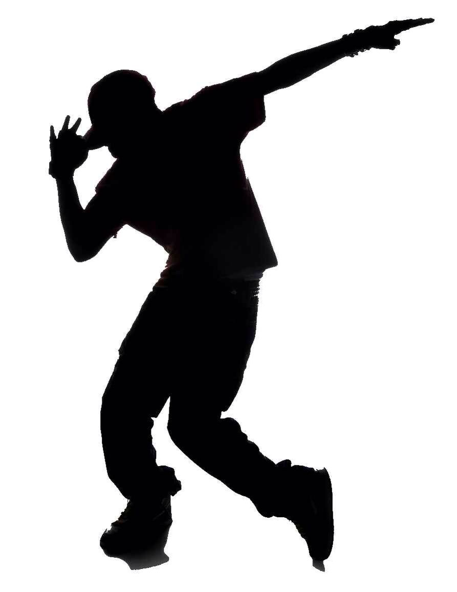 Hip Hop Pose Dance Silhouette Dancing Clipart Dancer Silhouette