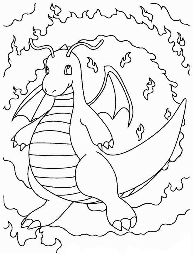 Dibujos para Colorear Pokemon 2 | Dibujos para colorear para niños ...