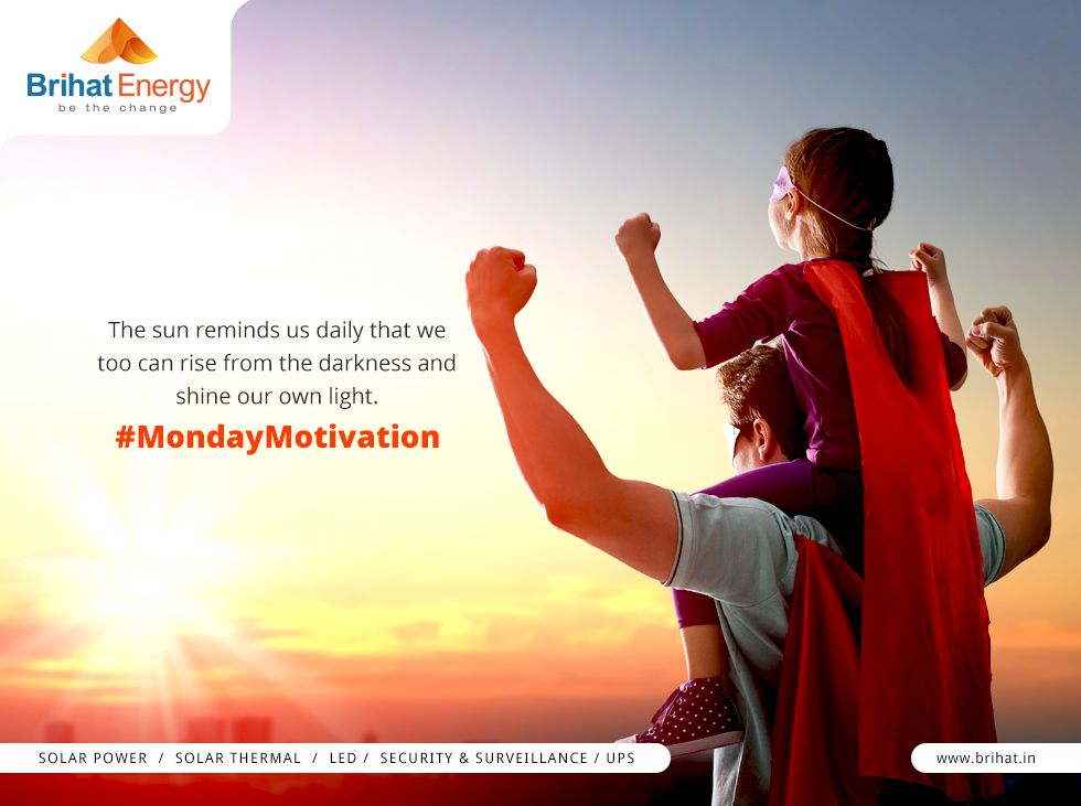 The sun reminds us daily that we too can rise from the darkness and shine our own light. #MondayMotivation Visit: http://goo.gl/n6B95m