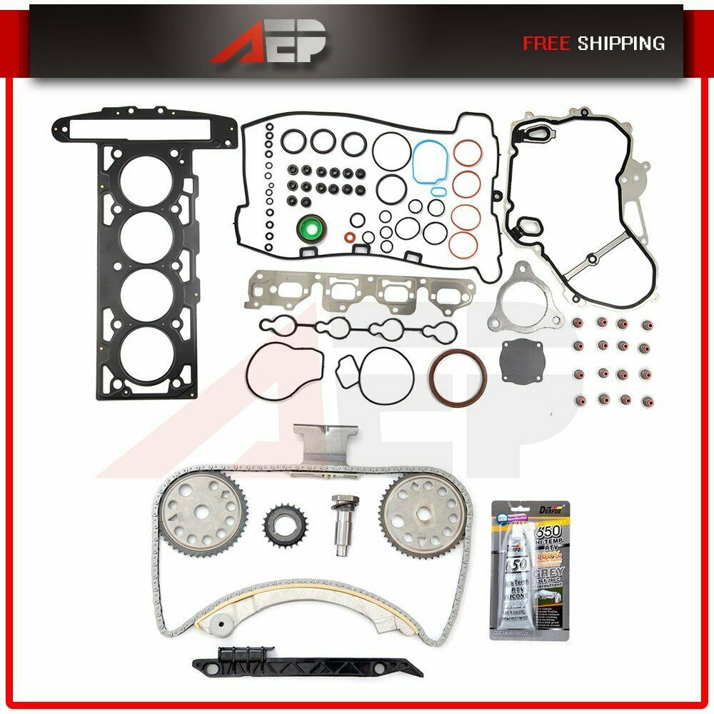 Details About Timing Chain Kit Head Gasket Set For 2007