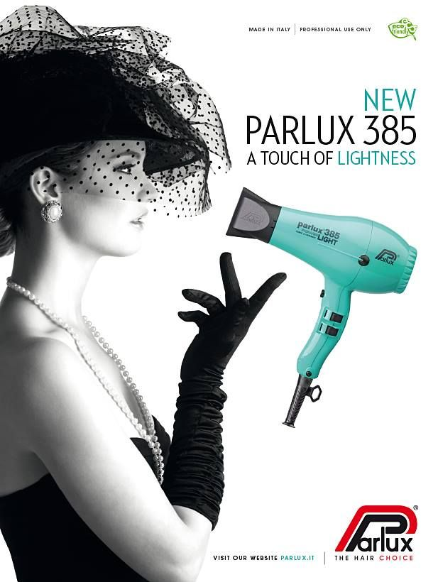 Parlux 385 Italian Dryer Is Super Light And Super Powerful
