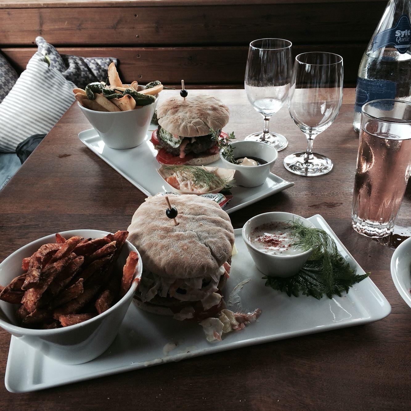Burger at Sansibar Sylt #burger #sansibar #sylt #food