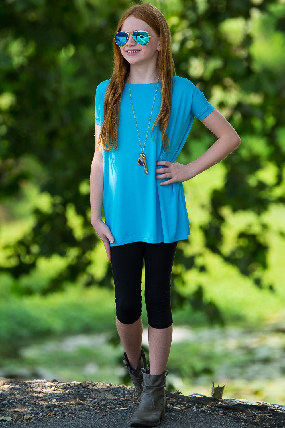 Your favorite tops are back in kids sizes these are perfect for