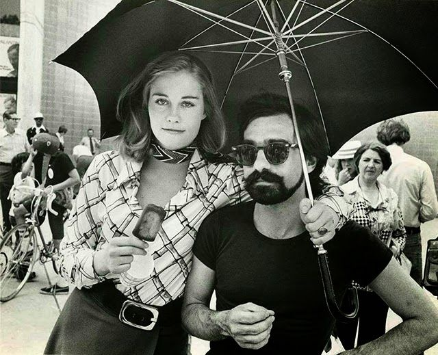 """vintage everyday: Rare Behind the Scenes Photographs of the Making Film """"Taxi Driver"""""""