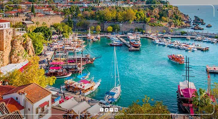 ما هي افضل الاماكن في تركيا للعوائل Antalya Canal Structures