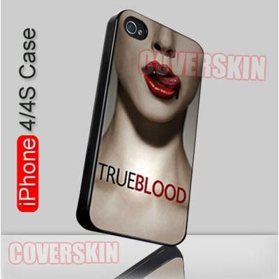 True Blood TV Movie iPhone 4 or 4S Case Cover