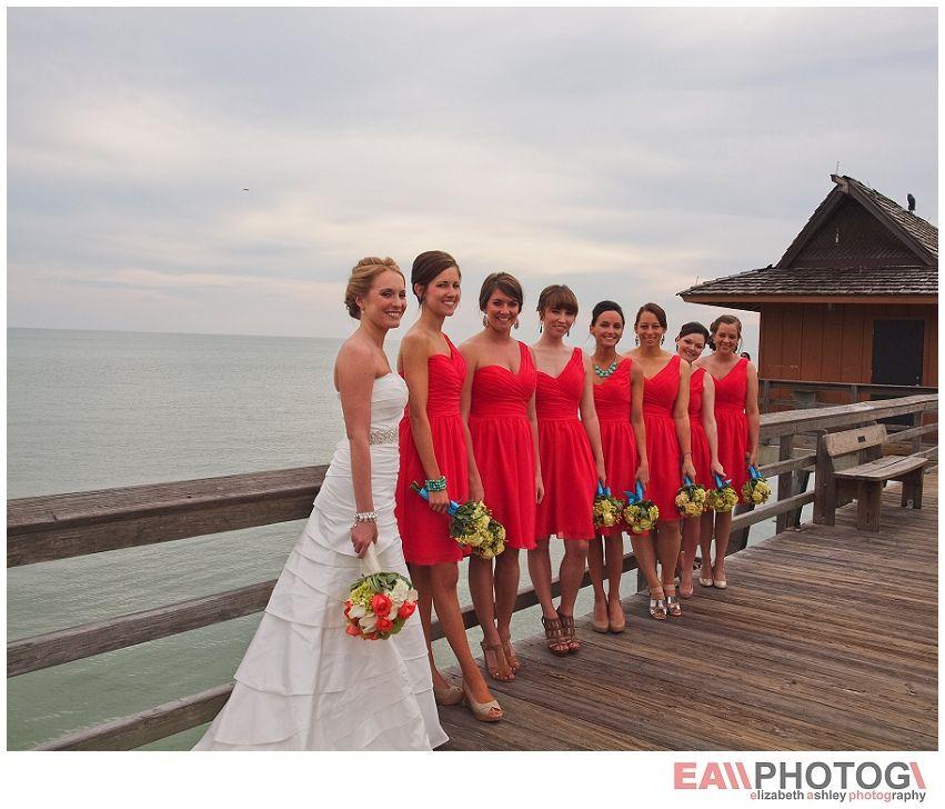Red Bridesmaids, Red Wedding