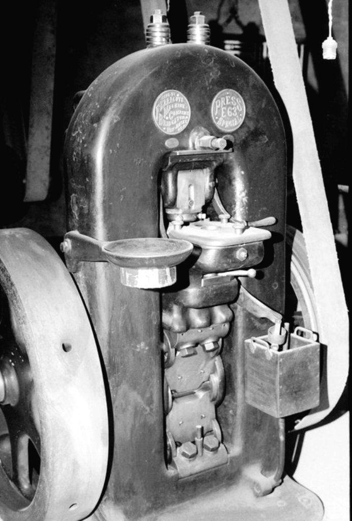 Ferracute Machine Company coin minting equipment | Оборудование для